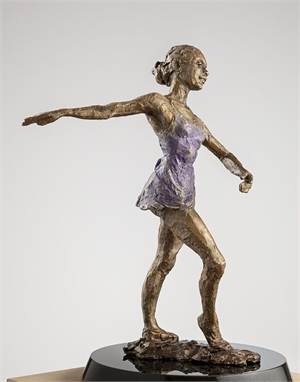 Evia in Lavender, The Dancers by Paige Bradley