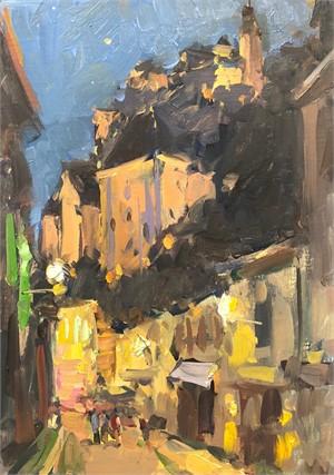 Rocamadour at Night