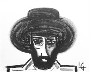 Man in Hat 404, 2020