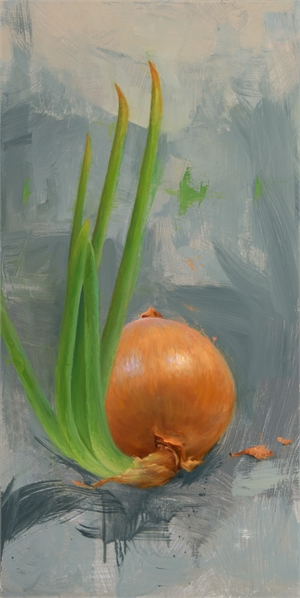 Onion by Elizabeth Zanzinger