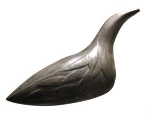 Bird, signed, 1987