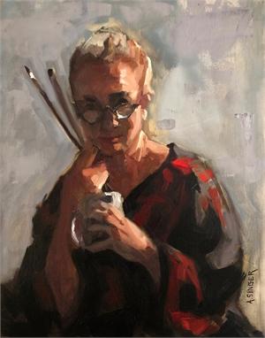 "ANNE SINGER, ""Self Portrait"""