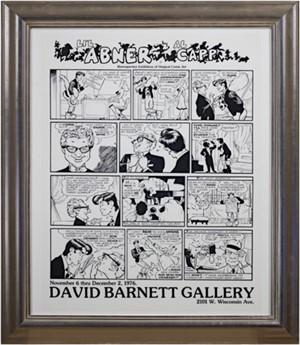 Li'l Abner - Retrospective Exhibition of Original Comic Art, David Barnett Gallery, 1976