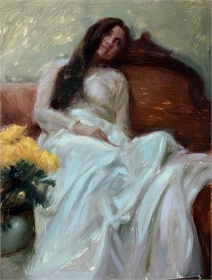 Melancholy in White by Suchitra Bhosle