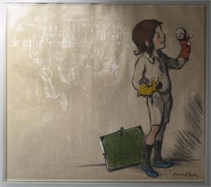 Le Gamin Aux Marionettes, c1894