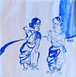 Blue Figures 2