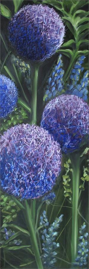 Amaranthine Allium