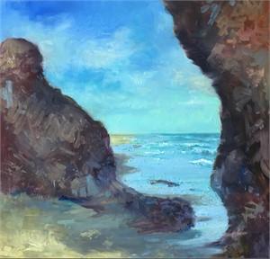Lucy Vincent Beach by Linda Richichi