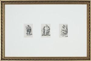 Three Separate Figures, c.1766