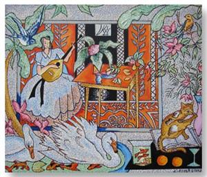 Interior with Matisse