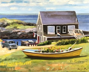 Springtime on Monhegan
