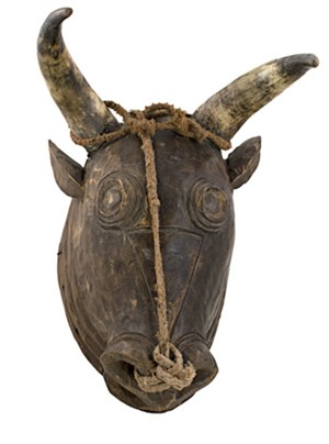 Bidjoguo Cow Head Portuguese Guinea, c.1950