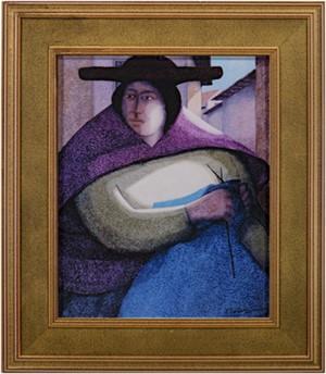 La Tejedora (Knitting), 2006