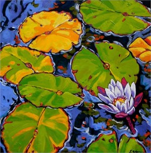 Lily Pads Dance in Light