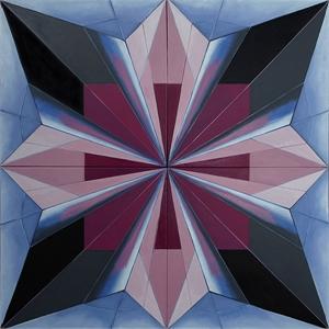 Zen Black Iris I