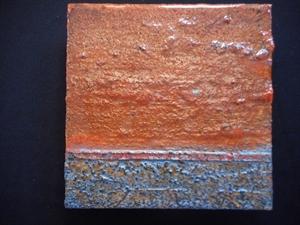 Small Metal Tile #92, 2020