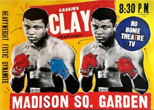 Double Ali Flight Poster