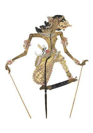 Flat Puppet Wayang Purwa, 19th c.