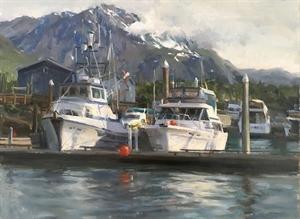 Seward Harbor by Kyle Ma