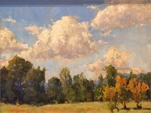 Clouds Over West Pasture