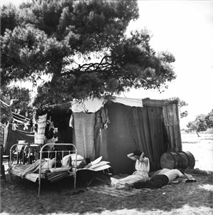 No. 205 Gypsy Camp, Near Athens, Greece, 1951