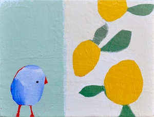 Blue Bird & Lemons, 2019