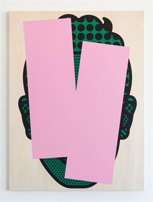 Sam (Pink & Green), 2015