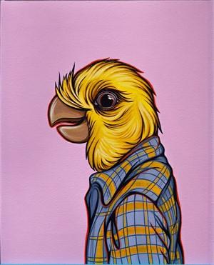 Bird in Your Dad's Shirt Cockatiel, 2018