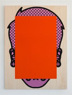 Timo (Orange & Pink), 2015