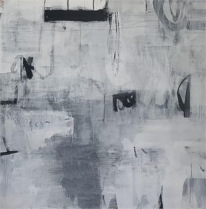 Palinsesti Bianchi, I (White Palimpsests, I) by Allison B. Cooke