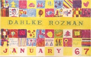 Dahlke-Rozman, Poster (9/10), 1967
