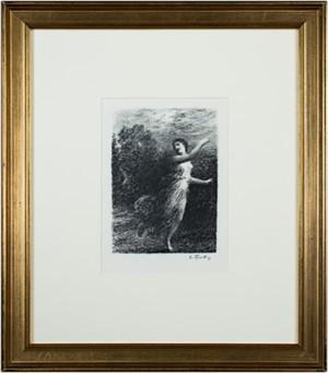 """From """"Les Bucoliques""""  XVII (Joy) (68/177), 1904"""