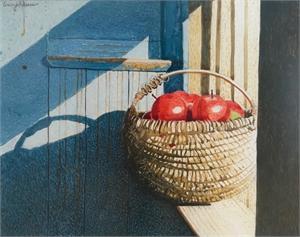 Sunlit Basket