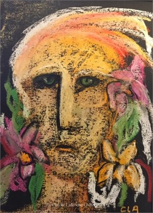 SHAMAN WITH FLOWERS