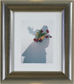 """Self-Portrait Shadow Series """"Take My Hand, I'm A Stranger in Paradise"""", 2004"""