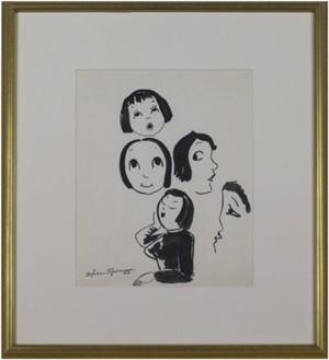 Five Faces #736, c.1940's