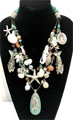 Custom Heirloom Treasure Necklace - Contact us to create your own necklace with Kim Yubeta