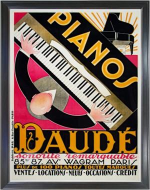 Pianos Daude, c.1926