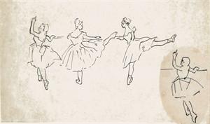 Dancers #28, c. 1928