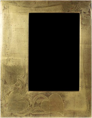 22K GOLD LEAF HANDMADE PHOTO FRAME 4X6 (Vertical -or- Horizontal), 2011