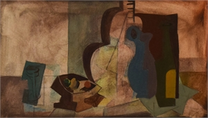Untitled (Still Life with Guitar), c. 1949