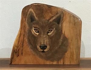 Wolf mantel piece, 2020