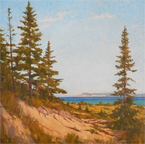 Pyramid Point From South Manitou by David Westerfield