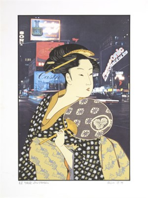 Ohisai After Utamaro, 1979