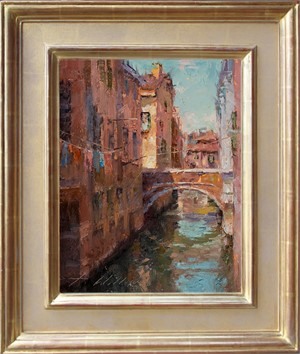 Side Canal Venice, 2017