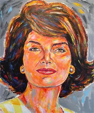 Presidential Portrait Series: Jackie O