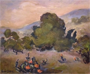Hill Country Landscape , c. 1930s