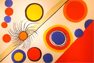 Blue, Orange and Red Shapes, 1975