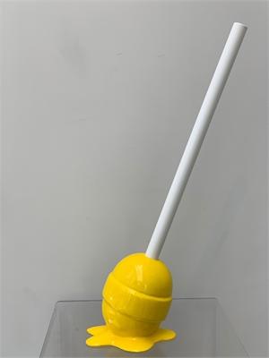 The Sweet Life Small Yellow Lollipop, 2019