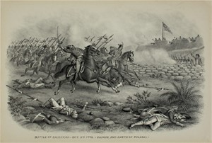 Battle of Savannah, Oct. 9th, 1779/Charge/Death Pulaski, c1890